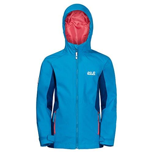 Jack Wolfskin Grivla Jacket, ademend, waterdicht, winddicht, reflectoren voor outdoor, weerbestendig, regenjas, weerbestendige jas