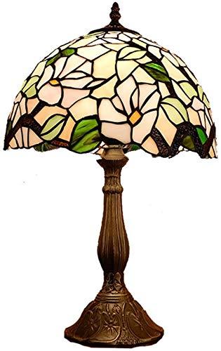 DIMPLEYA Tiffany Style Country Lámpara De Mesa Simple Dormitorio Hecho A Bar Estudio Luz * Mano Cabecera Café Mesa Decoración De 30 50cm