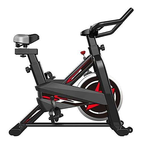 HXXXIN Bicicleta de Spinning para el hogar, Bicicleta de Ejercicio para Interiores, Juego de Aplicaciones, generación de Equipos Deportivos
