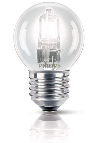 Philips EcoClassic Halogenlampe, 28W P45, dimmbar, Warmweiß, Warmweiß, E27 (Edison Screw) 28 wattsW 240 voltsV