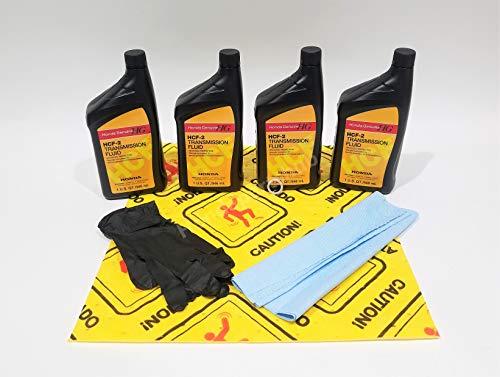 Honda Genuine HCF-2 Transmission Fluid Change Kit, 4 U.S.Qt/946ml w/Drain Plug Washer