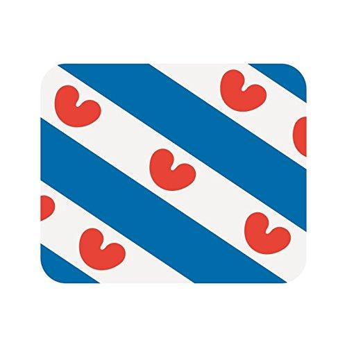 U24 muismat textiel Friesland Nederland vlag vlag mousepad