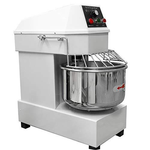 Gutstark Amasadora Revolvedora Industrial Tazón Acero Inox 20 Lts Ideal para Reposteria Panaderias