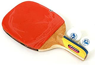 NEW Butterfly ADDOY P40 Table Tennis Racket Penholder Paddle Ping Pong Racket & Ball