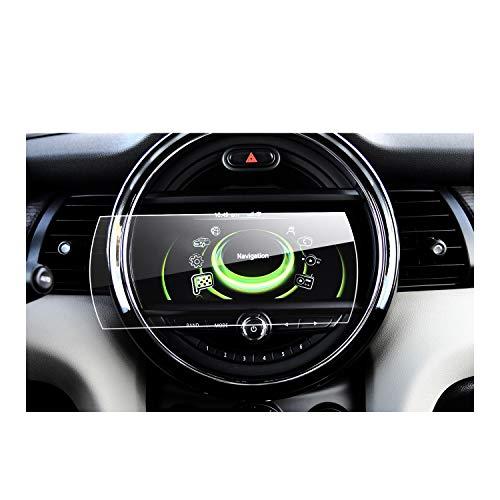 Gehard glas beschermfolie voor het navigatiesysteem van 2014 2015 2016 2017 BMW Mini Cooper(F55) (F56) (R55) (R56) (R57) onzichtbare displaybeschermfolie schermfolie glasfolie transparante folie RUIYA