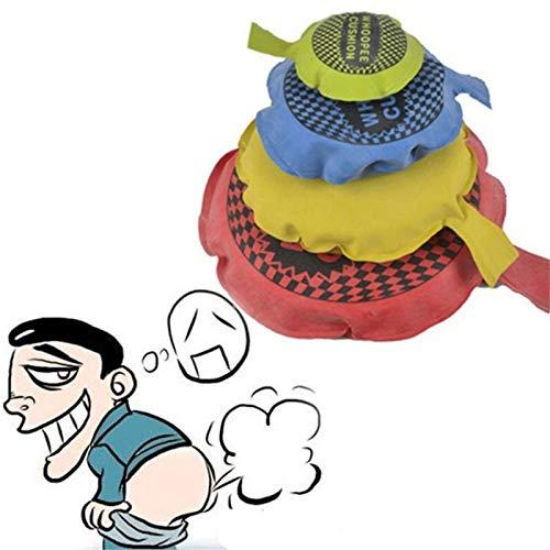 LOPADE Fart BagWhoopie Cushions Prank Toy El Juguete de Pedo novedoso Hace Ruido de Sonidos de Gas Opciones de 35 63 8 10 Colores aleatorios 4 Piezas Attractive