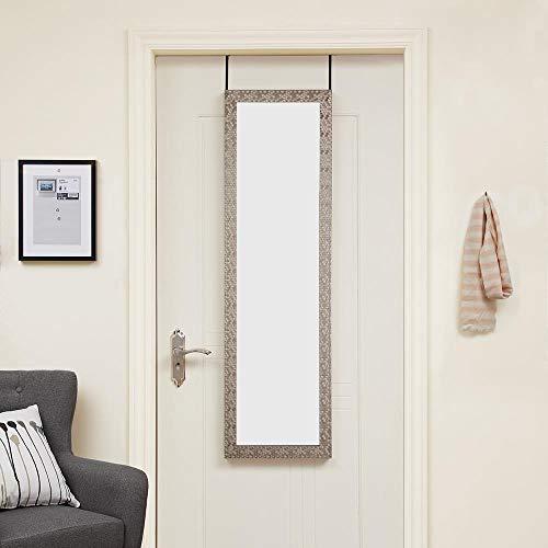 Naomi Home Over The Door Mosaic Mirror Silver/42