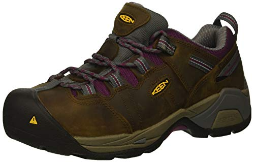 KEEN Utility Women's Detroit XT Low Steel Toe Waterproof Work Shoe