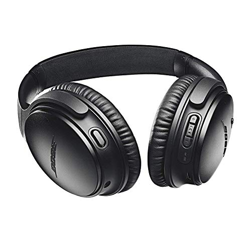 Bose QuietComfort 35 (Series II) Wireless Headphones, Noise Cancelling, Alexa voice control - Black