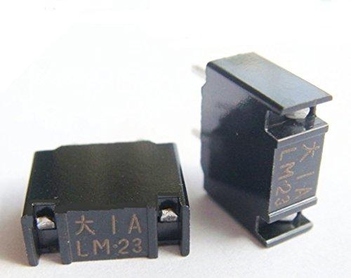 Daito Micro Fusibile LM16 (1,6A) 1,6 Amp FANUC (LM Fusibile) Nero 48V