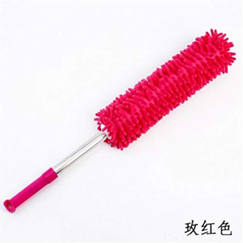 Qnmbdgm stofdoek van veren, Duster Feather Duster Home intrekbaar, gebogen autostofborstel voor stofborstels