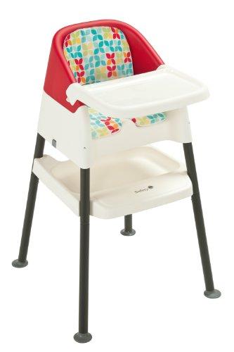Safety 1st 27656430 - Kleurrijke 2-in-1 stoel toren, playtime