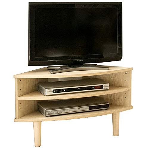 【22-32型推奨】アイリスプラザテレビ台32型コーナーテレビボード収納幅81.5cmビーチArdiIR-TV006