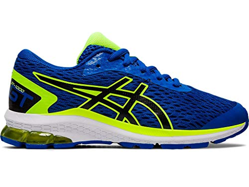 ASICS Kid's GT-1000 9 GS Running Shoes, 5M, Tuna Blue/Black