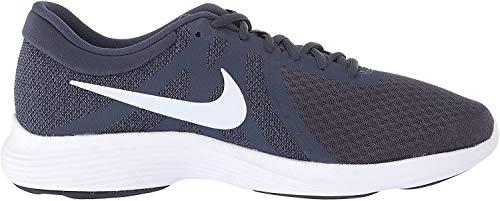 Nike Men's Revolution 4 Running Shoe (12, Thunder Blue/Football Grey)