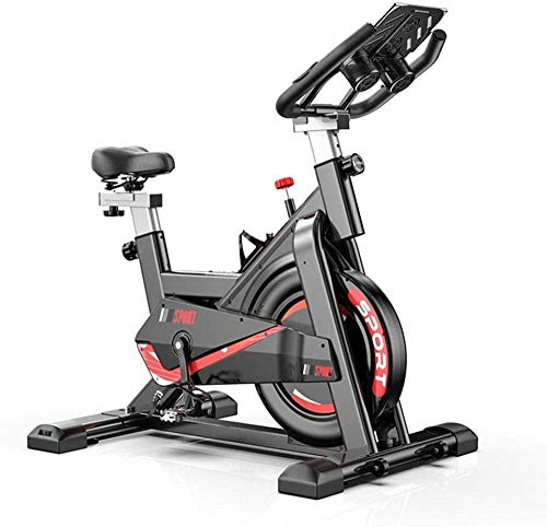 Indoor Aërobe Hometrainer 150KG Dragende met Tabletstandaard Mute Spinning Bike voor Home Fitnessapparatuur Cardio Bike dsfhsfd(Upgrade)