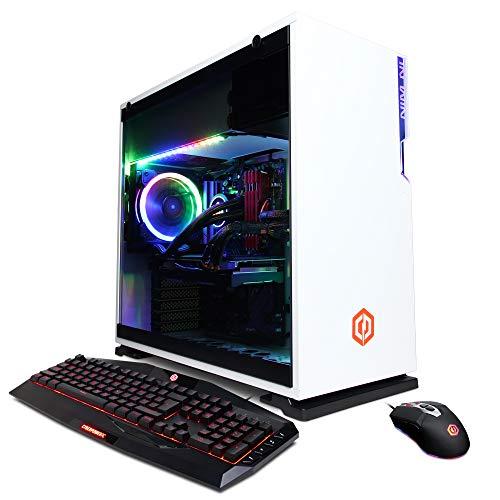 CYBERPOWERPC Gamer Supreme Liquid Cool Gaming PC, AMD Ryzen 9 3950X 3.5GHz, NVIDIA GeForce RTX 2080 Super 8GB, 32GB DDR4, 1TB PCI-E NVMe SSD, WiFi Ready & Win 10 Home (SLC8320A2, White)