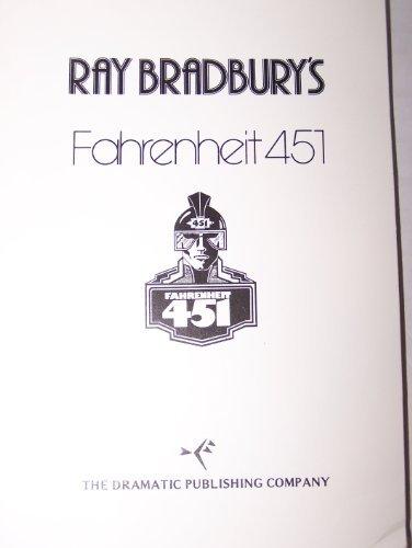 Fahrenheit 451 (the Play) 0871293102 Book Cover