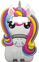 Samsung Galaxy J1 2016 Case,Awin 3D Cute Cartoon Rainbow Unicorn Horse Animal Soft Silicone Rubber Case for Samsung Galaxy J1 2015/J1 ACE/J1 2016/Amp 2/Express 3/Luna/Core Prime G360(Rainbow Unicorn)