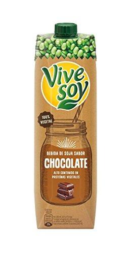 Vivesoy Chocolate - Paquete de 6 x 1 L - Total: 6 L