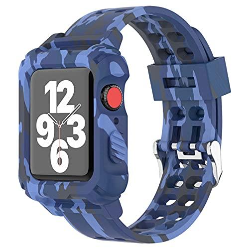 XWWL Correa de Reloj, Correas de Correa de Reloj de Repuesto de Silicona, Correas de Repuesto Deportivas, para Reloj Inteligente Mujer,E38