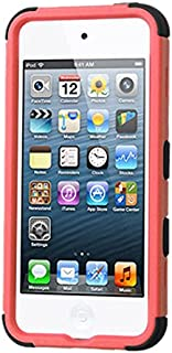 MyBat Cell Phone Case for Apple Devices - Retail Packaging - Black/Pink