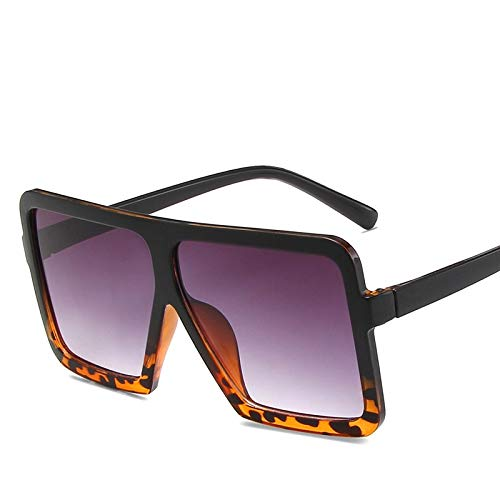 Gafas De Sol Montura De Gran Tamaño para Mujer, Gafas De Sol A La Moda, Montura De Gafas Cuadradas, Gafas Retro Vintage, Gafas Femeninas 4