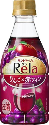 サントネージュ リラフルーツ りんごと赤ワイン ペットボトル 320ml