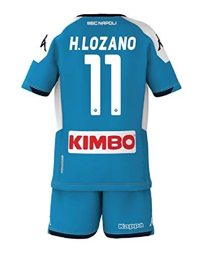 ssc napoli 2021/2020, Kit Gara Bambino, 11 Lozano, 03 Anni