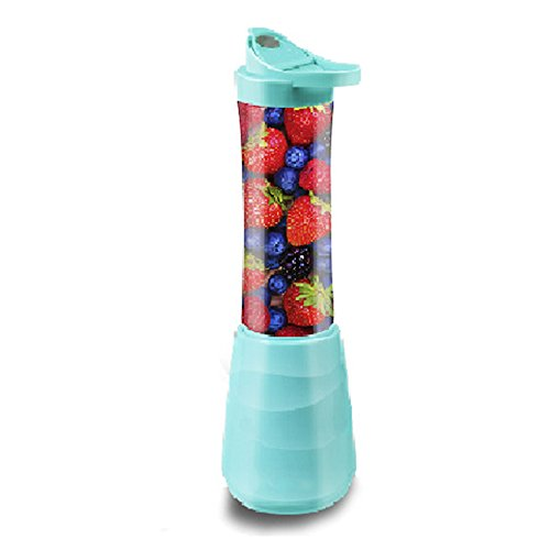 GLJXG Tragbare Frucht- und Gemüseentsafter 2 des Juicers Haushaltsfarbe wahlweise freigestellt 110 * 350 * Millimeter Rührgerät (Farbe : B)