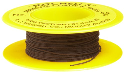 Mitchell Abrasives 55-C Round Crocus Polishing Cord, .018