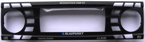 Blaupunkt Frontblende Zierrahmen Woodstock DAB 53 Ersatzteil 8636595511 Sparepar