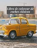 Libro de colorear de coches clásicos