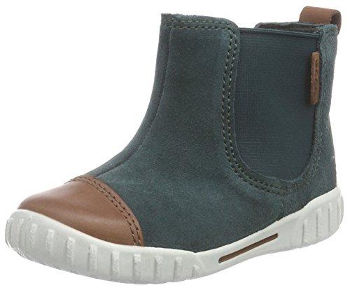 Ecco Mimic - Zapatillas de Running para bebé-niños, Color Verde (Mahogany/Dioptase), Talla 24