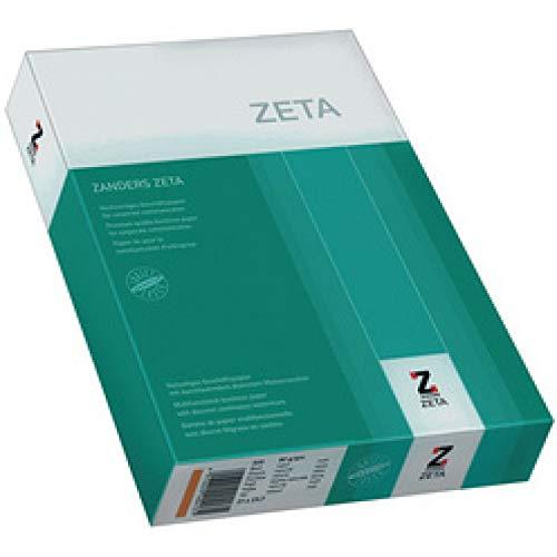 ZANDERS ZETA Hartpostpapier, DIN A4, 80 g qm, naturweiß