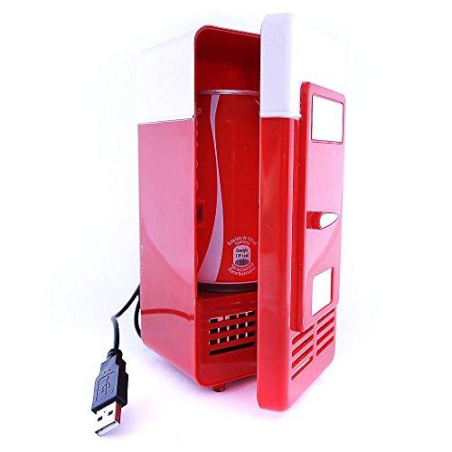 Mini Nevera USB Refrigerador Calentador Pequeño Frigorífico para Lat