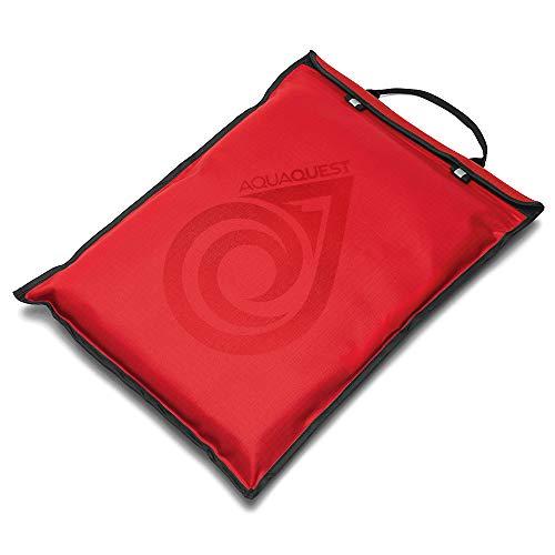 Aqua Quest Storm Laptop-Schutzhülle, 100 prozent wasserdicht, für Apple, Samsung, Acer, Dell, Asus, Lenovo, HP, leicht, 43,2 cm (17 Zoll), Rot