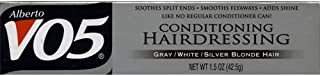 Alberto VO5 Conditioning Hairdressing for Gray/White/Silver Blonde Hair 1.5 oz (3 pack)