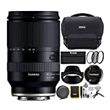 Tamron 28-200mm f/2.8-5.6 Full-Frame Lens for Sony E Mount Cameras with Koah Roebling Camera System Gadget Bag with Accessory Kit and 67mm 3-Piece Lens Filter Kit Bundle (3 Items)