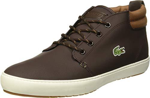 Lacoste Herren Ampthill Terra 319 1 CMA Sneaker, Braun (Dk BRW/Lt BRW 489), 43 EU
