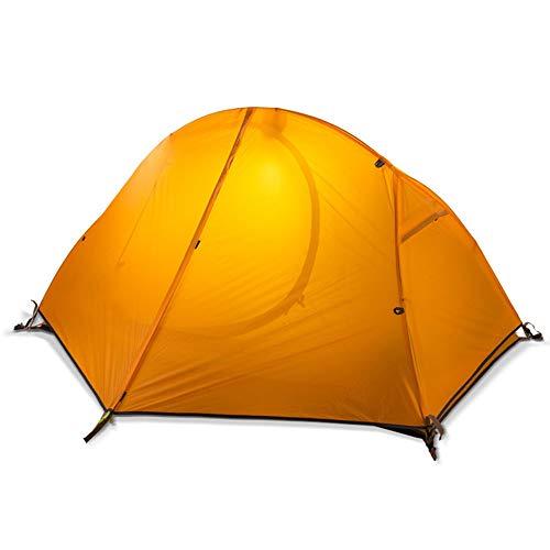 DEI QI Tente de Camping mis à Niveau la Tente portative imperméable en Aluminium de Tente de Saison d'ultra-léger 2 Personnes 4 Ultra