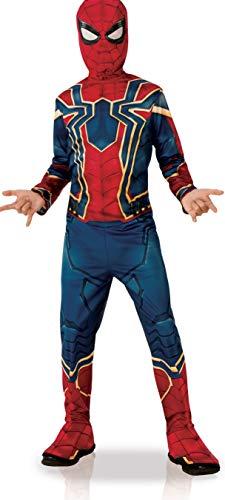Rubies - Costume Iron Spider, ragazzo, I-700659M, rosso, taglia M 5-6 anni
