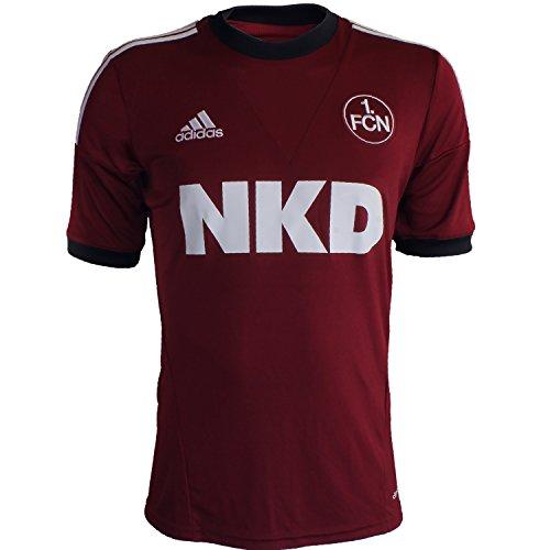Adidas FC Nürnberg Home Jersey G71053 Herren Fußballtrikot / Trikot / Fantrikot Rot S