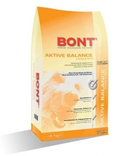 BONT Aktive Balance Lachs + Reis 1 x 4 kg Krokette auch für kleine Rassen Hundefutter