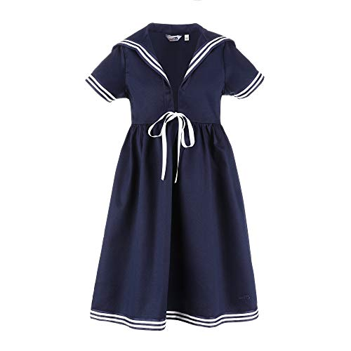 modAS Matrosenkleid in blau für Kinder klassischer Stil Größe 104