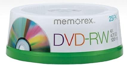 MEM05562 - Memorex DVD-RW (4.7 GB) (4x) Branded