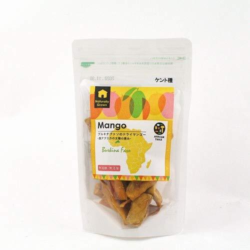 【有機JAS原料使用】ブルキナファソのドライマンゴー(ケント種)  無添加・砂糖不使用 (80g)