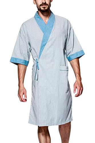 Unisex dames heren ochtendjas sche bed verwarmen kimono boom jongens chic nacht warme badjas robe kimono negliggee locker pyjama 130 cm 51 18 inch voor iedereen
