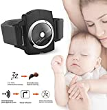 Infrared Anti Snoring Watch, Smart Snore Stopper Wristband Anti-Snoring Device with Biofeedback Sensor Snore Stopper with USB Charging for Mouth Breathers Women Men Kids