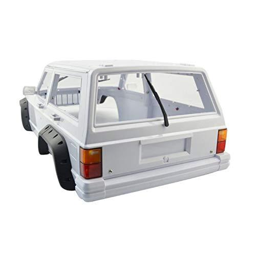 Amyove Hartplastik Radstand Cherokee Karosserie - 1/10 RC Axial SCX10 und SCX10 II 90046 90047 für TRX4 Kit